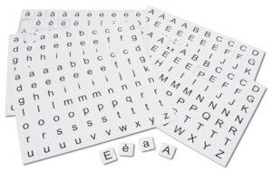 Alphabet magnétique - Pack élèves